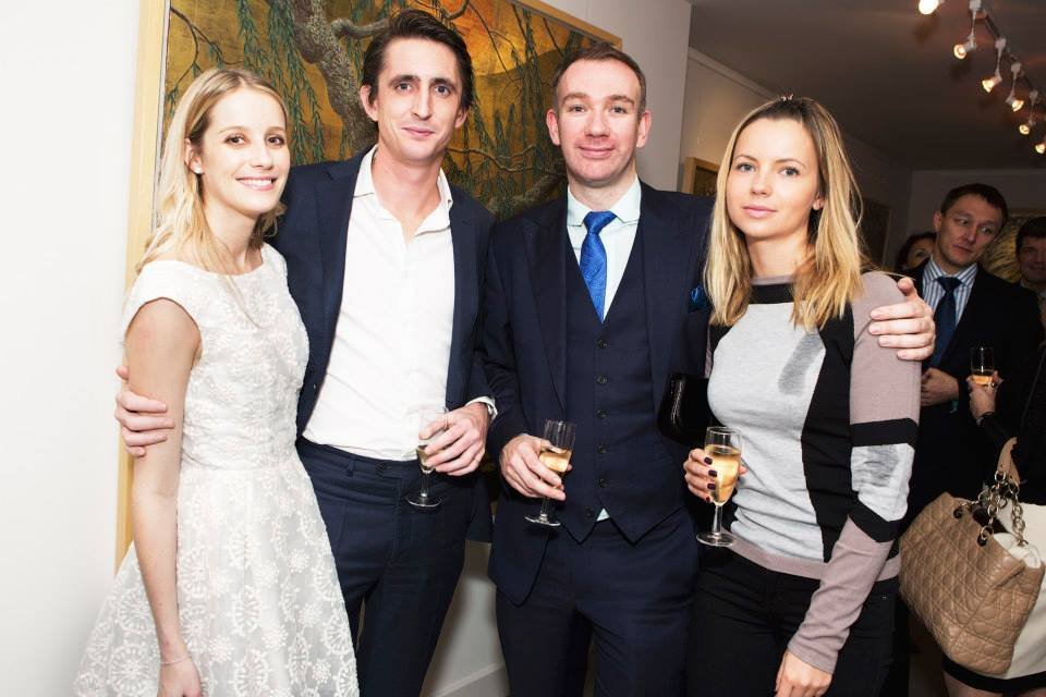 L-R: Emma Blackshaw, Hugo Bishop, James Morgon, Irina Morgon
