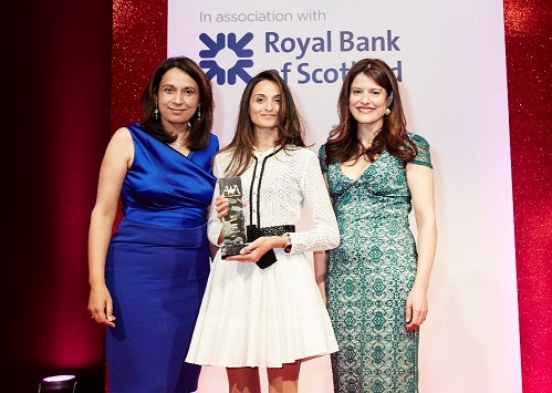 From L-R; Ruby McGregor-Smith, Farzana Baduel, Miriam González Durántez